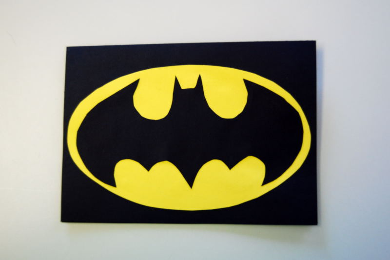 Bat Man Invitations
